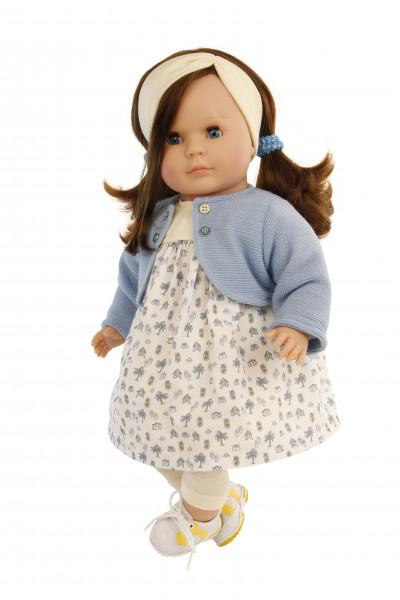Kleidung zu Hanni/Susi/Amy 45 cm weiss/blau