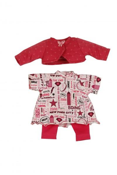 Kleidung pink zu Puppe Schlummerle 32 cm