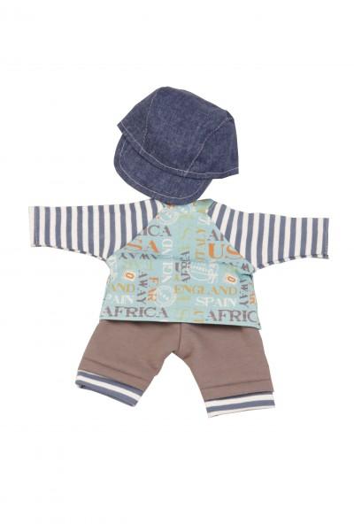 Kleidung zu Schlummerle 32 cm Spielkleidung Junge