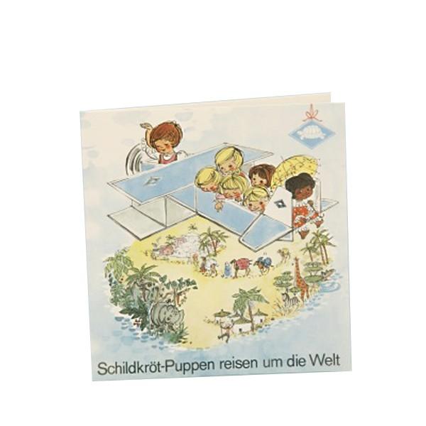 """Büchlein """"Schildkröt-Puppen reisen um die Welt"""""""
