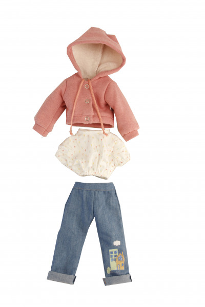Kleidung zu Puppe Yella 46 cm sportlich