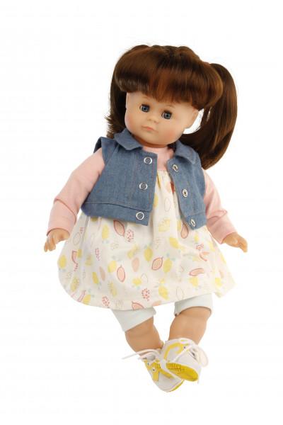 Kleidung zu Puppe 37 cm Schlummerle/Strampelchen/Schlenkerle/Lenchen bunt mi