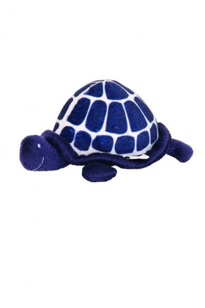 Schildkröte aus Stoff mit Rassel