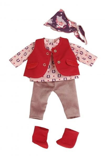 Kleidung zu Puppe 37 cm Schlummerle/Schlenkerle/Strampelchen Reiterkleidung