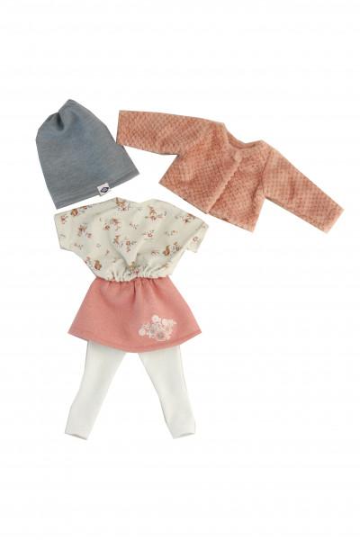 Kleidung zu Puppe Yella 46 cm winterlich