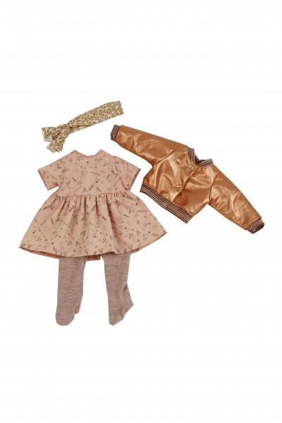 Kleidung zu Stehuppe Elli 52 cm rose/rotgold