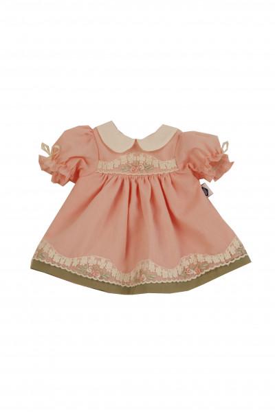 Kleid für Stehpuppe 25-49 cm, rose Sommerkleid