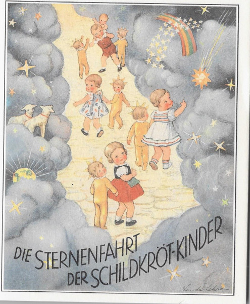 """Büchlein """"Die Sternenfahrt der Schildkrötkinder"""""""
