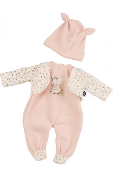 Kleidung zu Puppe Schlummerle 32 cm, Modell Hab dich lieb Bärchen