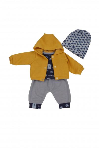 Kleidung zu Puppe 52 cm Peterle/Klara/Elli/Julchen Fußball-Fan