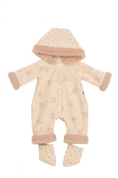Kleidung zu Baby Amy 45 cm Schlafanzug rose