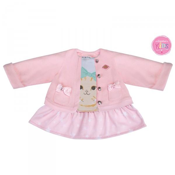 Kids - 2 in 1-Kleid mit Jacke Kätzchen