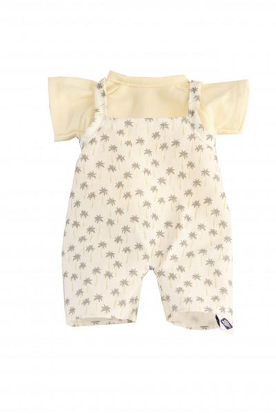 Kleidung zu Schmuserle/Löckchen 30 cm Latzhose und Shirt