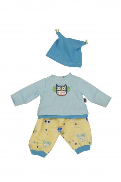 Kleidung zu Trink + Näßbaby 40 cm Finn blau/gelb