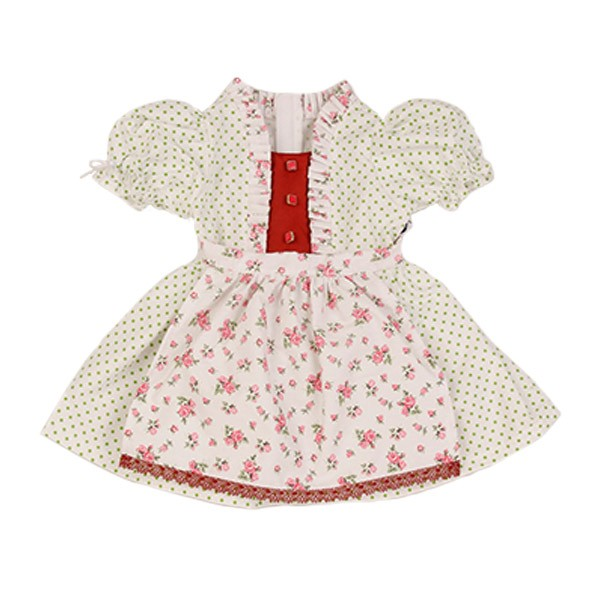Kleid für Stehpuppe 64 cm Dirndl
