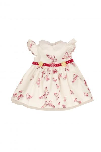 Kleid zu Stehpuppe 34+41+46 cm, Schmetterlingskleid