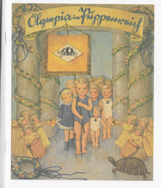 """Büchlein """"Olympia im Puppenreich"""""""