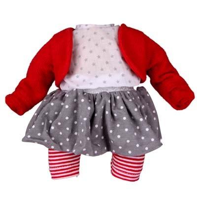 Kleidung zu Puppe 32 cm Schlummerle, Modell Partygirl
