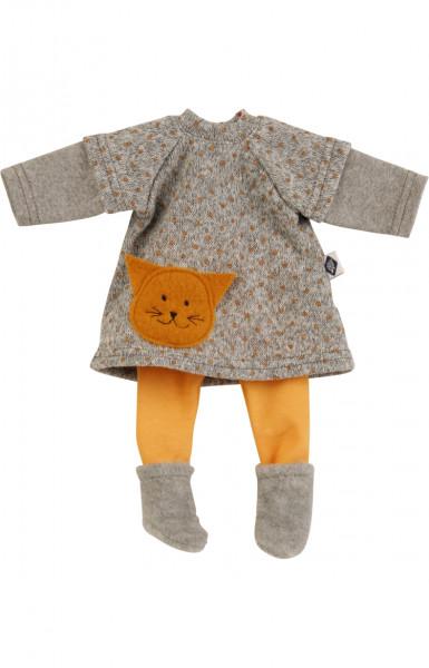 Kleidung zu Puppe Schlummerle 32 cm, Modell Schmusekätzchen