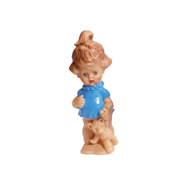 Qietschpuppe Mädchen 14 cm