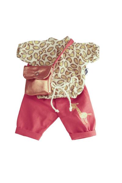 Kleidung zu Puppe Schlummerle 32 cm, Modell Reiselust
