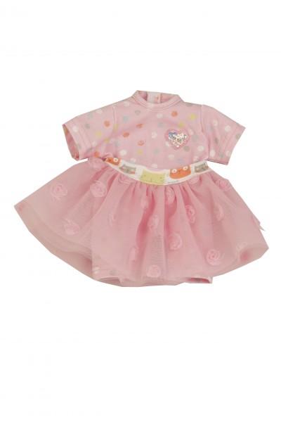 Kleidung pink zu Puppe Schlummerle 32 cm, mit Tüllrock